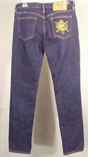 Ralph Lauren Blue Label Womans 30x31 Thompson 650 Jeans Triple Horse Sport Crest
