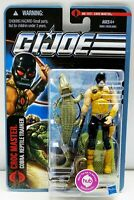 Hasbro GIJoe CROC MASTER 2011 MOC Pursuit Of Cobra Factory Sealed Action Figure