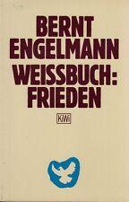 Bernt Engelmann : Weissbuch Frieden , TB 1982