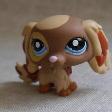 Brown Muddy Spainal DOG Pubby LPS #2570 mini Action Figure LITTLEST PET SHOP