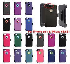 iPhone 6 6S & iPhone 6+ 6S Plus Case (Belt Clip fit Otterbox Defender)