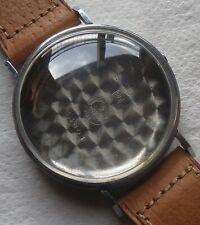Girard Perregaux chronograph mens wristwatch nickel chromiun case N.O.S.
