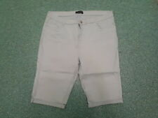 "Dorothy Perkins Shorts Jeans Size 18 Leg 13"" Faded Light Blue Ladies Jeans"