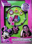 DISNEY MINNIE MOUSE,MAGICAL LIGHT-UP JEWELRY ACTIVITY SET,26 PIECES,KIDS 3+,NEW