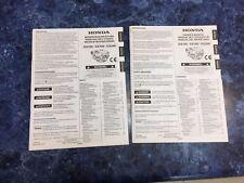 Honda Engine Owners Manual GX120 GX160 GX200, English, Español & Français 2005
