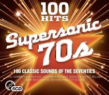 Various - 100 Hits Supersonic 70s BRAND NEW SEALED 5CD BOXSET