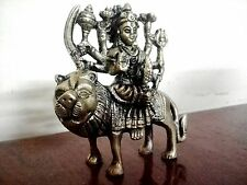 Hindu Goddess Durga Kali Statue Devi Brass Hinduism Figurine Idol Sculpture New