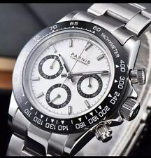 U.K. Divers Pilot  Military Quartz Chronograph Sports Watch By Parnis