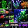 Aquarium Pflanzen Kunstpflanze Fisch Tank Dekoration Aquarien Ornament DekoPaket
