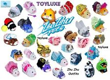 Zhu Zhu Pets Hamster Stylin Outfit Costume Clothes Accessories Set New Puppies