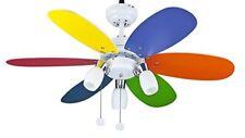 Interfan Parchís - Ventilatore da soffitto Multicolore