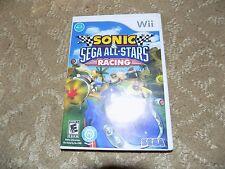 Sonic & Sega All-Stars Racing (Nintendo Wii, 2010) FREE USA SHIPPING