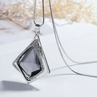 Crystal Diamond Necklaces Pendant Long Sweater Chain Necklace Women Jewlery Gift
