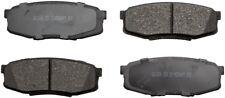 Disc Brake Pad Set-ProSolution Ceramic Brake Pads Rear Monroe GX1304