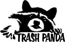 Raccoon Trash Panda Decal Window Bumper Sticker Car Funny Cute Wildlife Animals