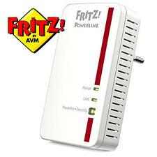 AVM Fritz! Powerline 1000e-bridge-GigE homeplug av (Hpav) para pared enchufe