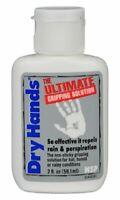 DRY HANDS  2 oz.Bottle Sport Grip Powder for  Pole Dancing, Baseball, Golf etc.