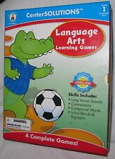 Grade 1 Homeschool Carson Dellosa Center Solutions Language Arts Learning Games