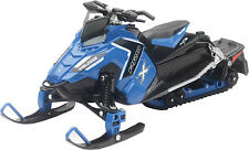 POLARIS SWITCHBACK PRO-X 800 SNOWMOBILE NEW-RAY TOY BLUE 57783B