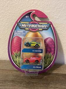 Micro Machines Holiday Easter Egg 2 Car Pack - Katipo (#0255) & Felis (#0256)