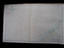 "1971 GABBARD & GALLOPER BANKS to HOOK of HOLLAND Sea Chart MAP 28"" x 44"" C09"