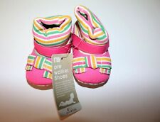 Mothercare Brand Pink Stripe Pre Walker Shoes Size 2 (up to 9 mnth) BNWT #BABY2
