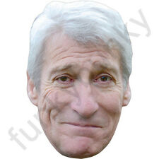 Jeremy Paxman Political Interviewer Card Mask - All Our Masks Are Pre-Cut!