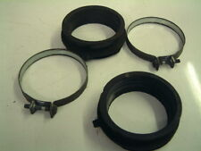GENUINE HONDA CB500 - CARB ISOLATORS / MOUNTING / INLET RUBBERS & CLAMPS