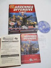 The Ardennes Offensive big box PC 1997 WWII computer game