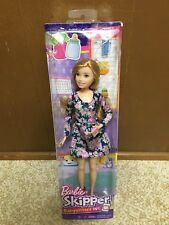 2017 Barbie Sister Teen Skipper Babysitter Inc Freckles Doll And Popcorn Rare