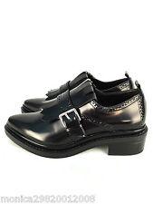 Zara Bluchers Mocassins Shoes With Buckle and Fringe Size Uk7/eur40/us9