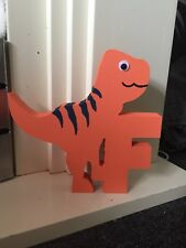 Mdf Freestanding Dinosaur Letters, Boys Bedroom Decor, Trex, Diplodocus, Fun