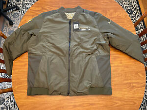 Nike Dallas Cowboys On Field Military Reversible Jacket XXL Salute to Service