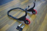 Motorcycle Rear Roadbike Race Lift Stand Paddock Stand Road Motorbike Pit Stand