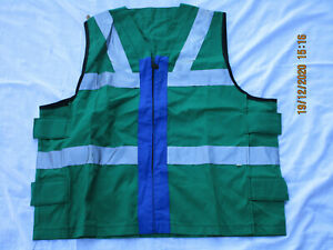 Surcoat,Flight Deck,RN,FR,Emerald Green,Blue,Marine Weste Flugdeck,Royal Navy,#5