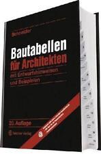Bautabellen für Architekten von Klaus-Jürgen Schneider (2012, Gebunden)
