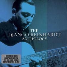 Django Reinhardt ANTHOLOGY Best Of 71 Songs ESSENTIAL Gypsy Jazz NEW SEALED 3 CD