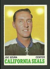 Joe Szura California Golden Seals 1970-71 Topps Hockey Card #73 EX+