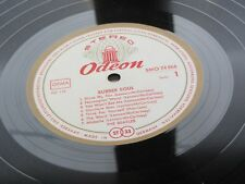 THE BEATLES ORIG 1965 GERMAN L P RUBBER SOUL RED WHITE GOLD ODEON SMO 74 066