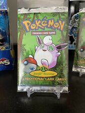 1st Edition Pokemon Jungle Booster Pack Unweighed