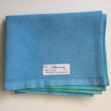 Zweigart Silkweavers 14 cnt aida 18 x 21 Preening Peacock turquoise aqua blue A
