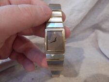 Vintage Seiko Watch Engraved Square Face