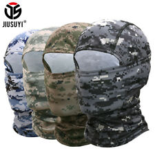 Camouflage Breathable Balaclava Thin Full Face Mask Cycling Hunting Neck Gaiter