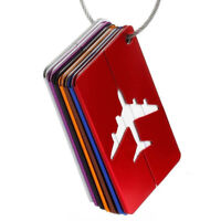 Travel Portable Plane Luggage Tags Suitcase Label Name Address ID Luggage Tag MA