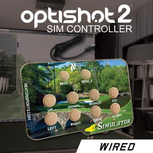 Optishot 2, golf simulator, controller. THE MASTERS