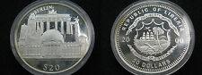 LIBERIA , 20 DOLLARS DE 2000 - BERLIN , SILVER . PLATA - PROF