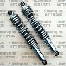 Rear Shock Absorbers Suzuki GZ125 GZ 125 1998-2010 Pin/Pin 320mm Shocks Chrome