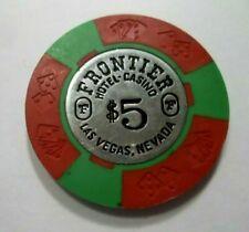 $5 oceanside card club california casino chip obsolete rare