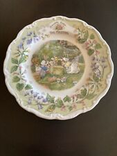New Listingbrambly hedge royal doulton Dessert Plate - The Meeting