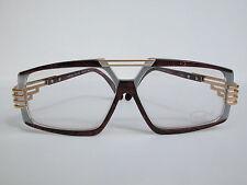 Cazal Vintage Eyeglasses -NOS-Model 325- Col. 659 -Gold & Marble Maroon Red,Gray